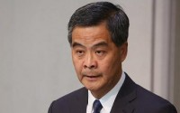 专访梁振英:不要低估中央处理香港问题的决心